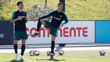 رونالدو يشارك في تدريبات المنتخب لأول مرة بعد المونديال