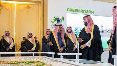 الملك سلمان يطلق 4 مشاريع في الرياض بـ86 مليار ريال