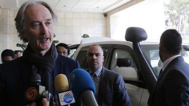 سوريا.. بيدرسون إلى الرياض اليوم للقاء اللجنة الدستورية