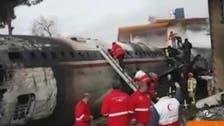 ایران میں مسافر بردار طیارہ گرکر تباہ، 66 افرادہلاک