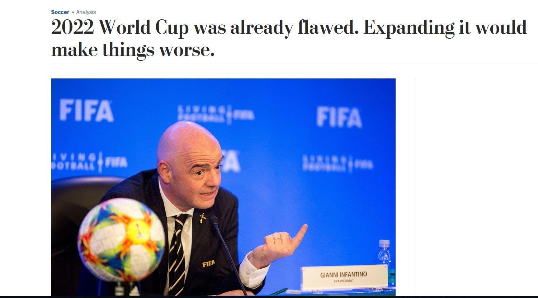 المقال في صحيفة واشنطن بوست