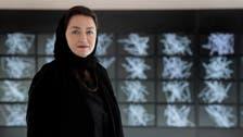 Saudi artist Daniah al-Saleh's work 'Sawtam' deconstructs Arabic language