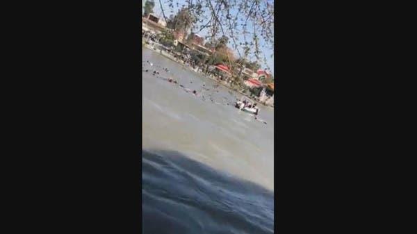 93 قتيلاً إثر غرق عبارة في نهر دجلة قرب الموصل