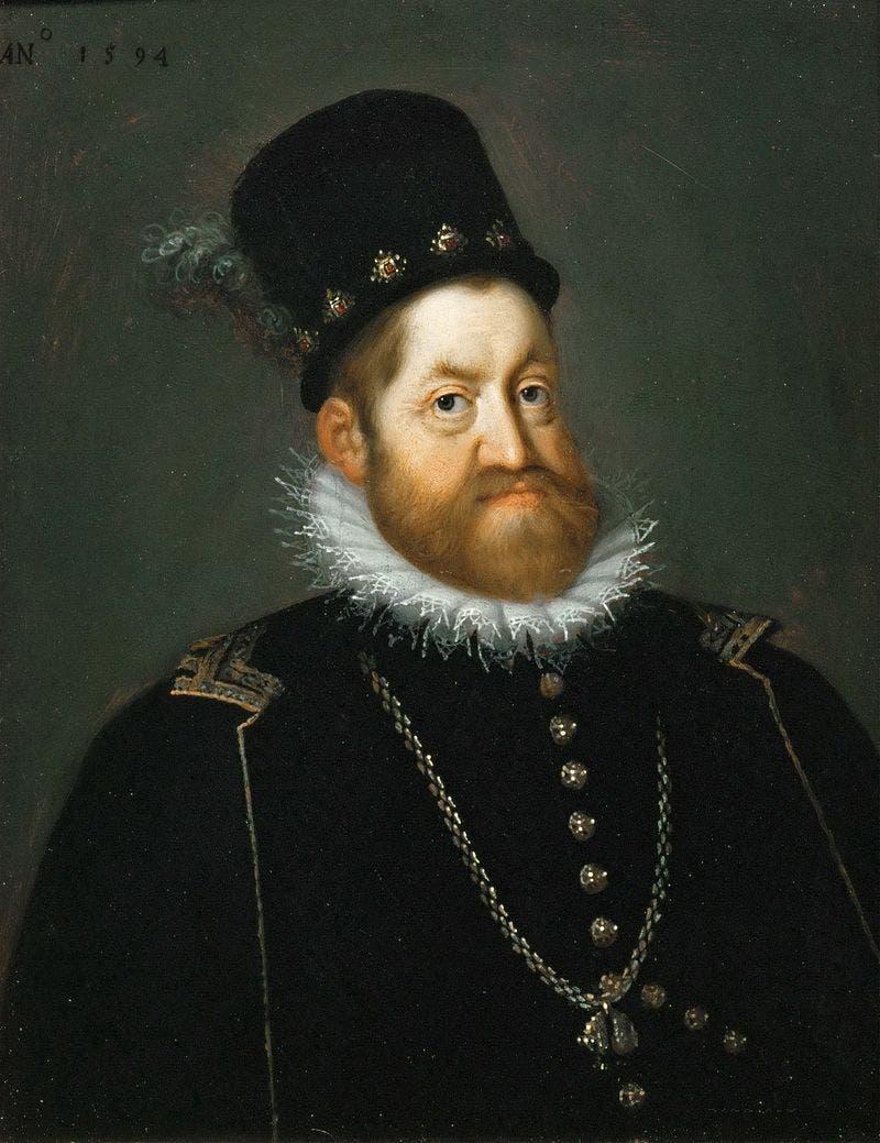صورة للإمبراطور الروماني المقدس رودولف الثاني
