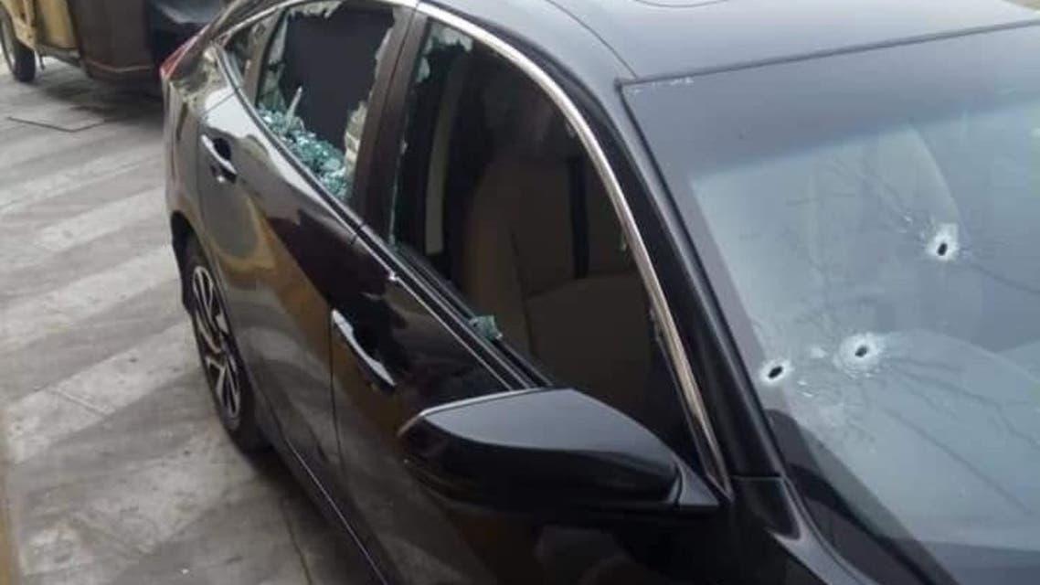 سيارة المفتي تعرضت لإطلاق نار
