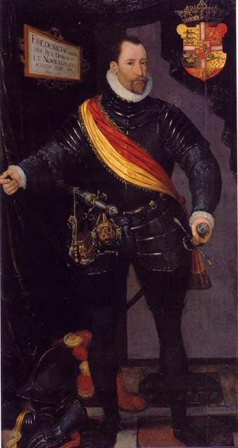 صورة لملك الدنمارك فريدريك الثاني