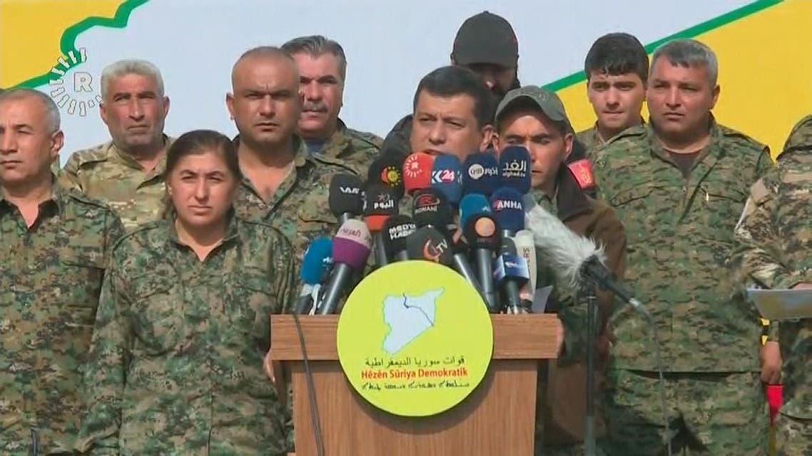 قسد تعلن الانتصار على داعش