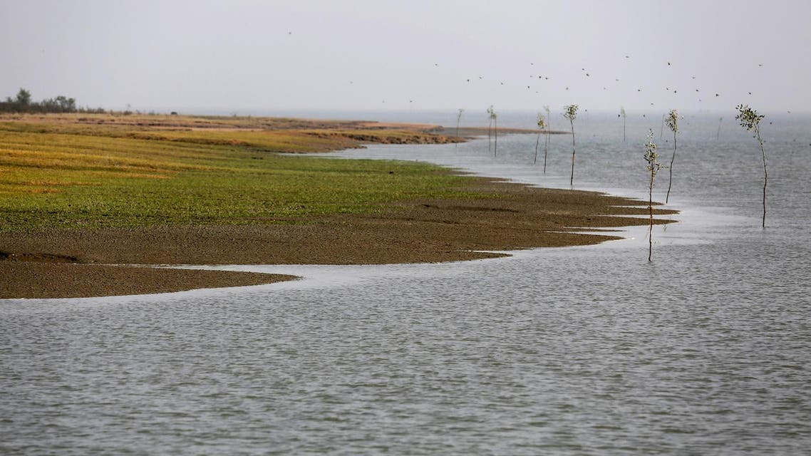 A view of Bhasan Char Island in the Bay of Bengal, Bangladesh. (File photo: Reuters)