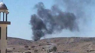 طيران التحالف يدمر تعزيزات حوثية في البيضاء