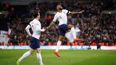 ثلاثية ستيرلنغ تقود إنجلترا لفوز سهل على التشيك