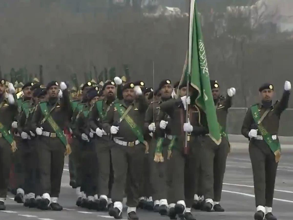 Royal Saudi Armed Forces at Pakistan Day parade. (File photo)