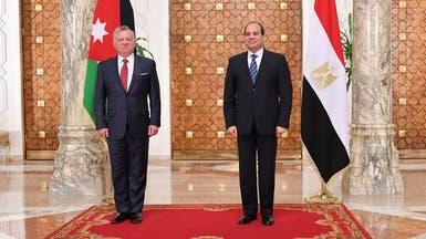 اتفاق مصري أردني على دعم الفلسطينيين لإقامة دولة مستقلة