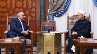 عبد المهدي لشيخ الأزهر: العراق هزم داعش بوحدته الوطنية