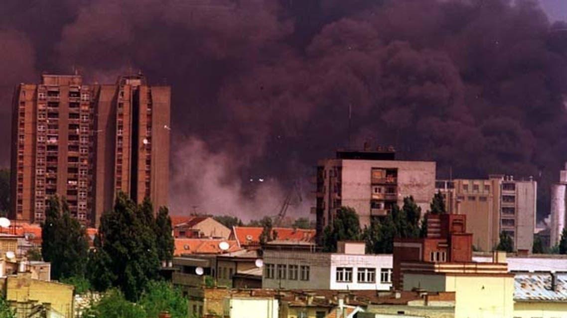 قصف الناتو على صربيا