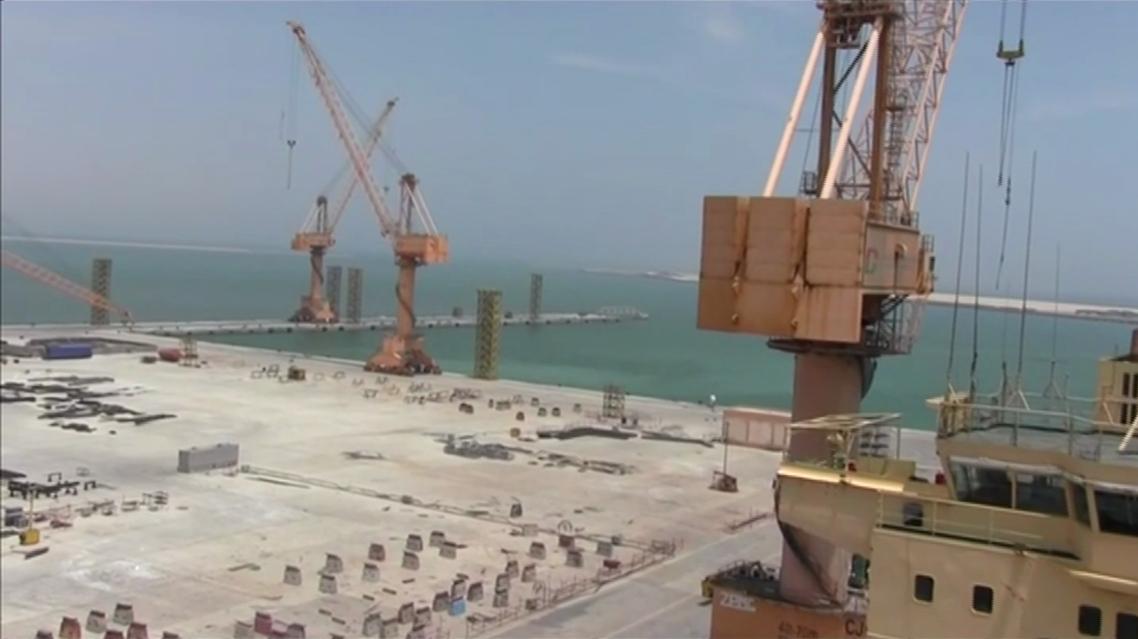 Oman Duqm port1. (Reuters)