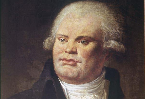 لوحة زيتية تجسّد جورج دانتون