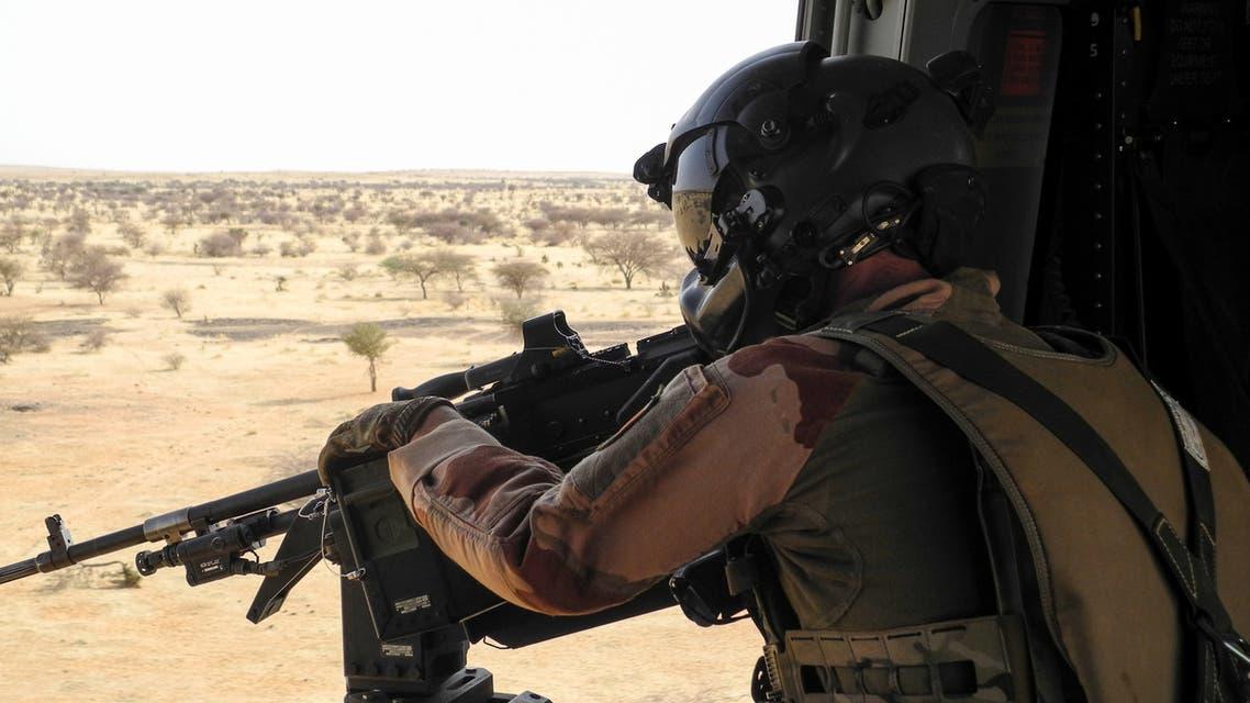 أحد عناصر القوات الفرنسية في مالي