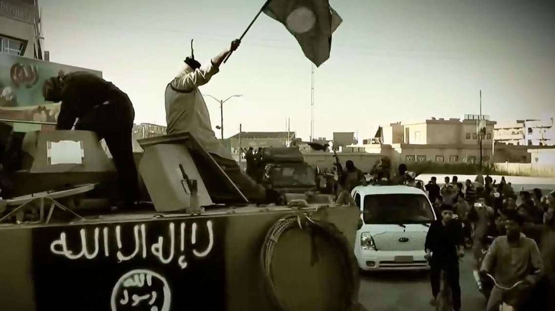 An image grab taken from a propaganda video released by ISIS. (AFP)