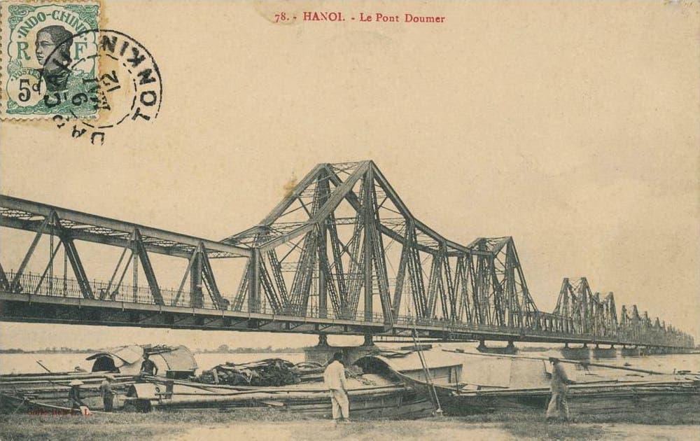 صورة لجسر بول دومير بهانوي