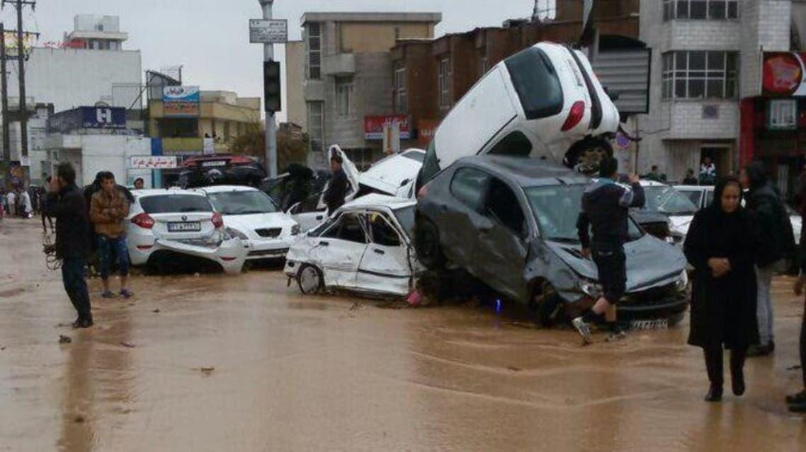 فيضانات إيران