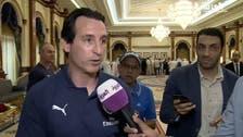 """إيمري لـ""""العربية"""": سعيدون في دبي..وسنخوض المباراة بجدية"""