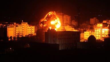 توسيع القصف الإسرائيلي على غزة.. استهداف مكتب قائد حماس