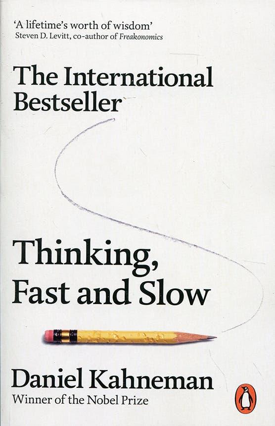 كتاب التفكير بسرعة وببطء لدانيال كانمان الحائز على جائزة نوبل في الاقتصاد