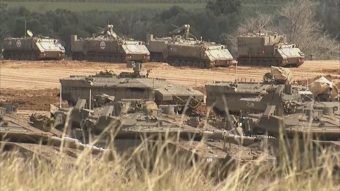 تعزيزات عسكرية إسرائيلية ضخمة على حدود غزة