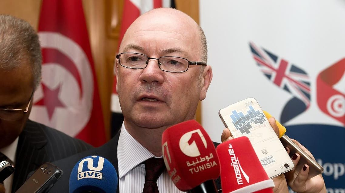 British minister of state for the Middle East and North Africa, Alistair Burt  resigns over brexit. (AFP)