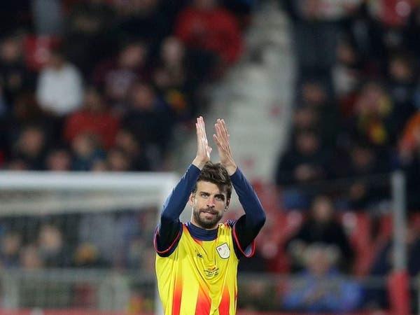 """بيكيه يطالب جماهير كاتالونيا بـ""""احترام"""" إسبانيا"""