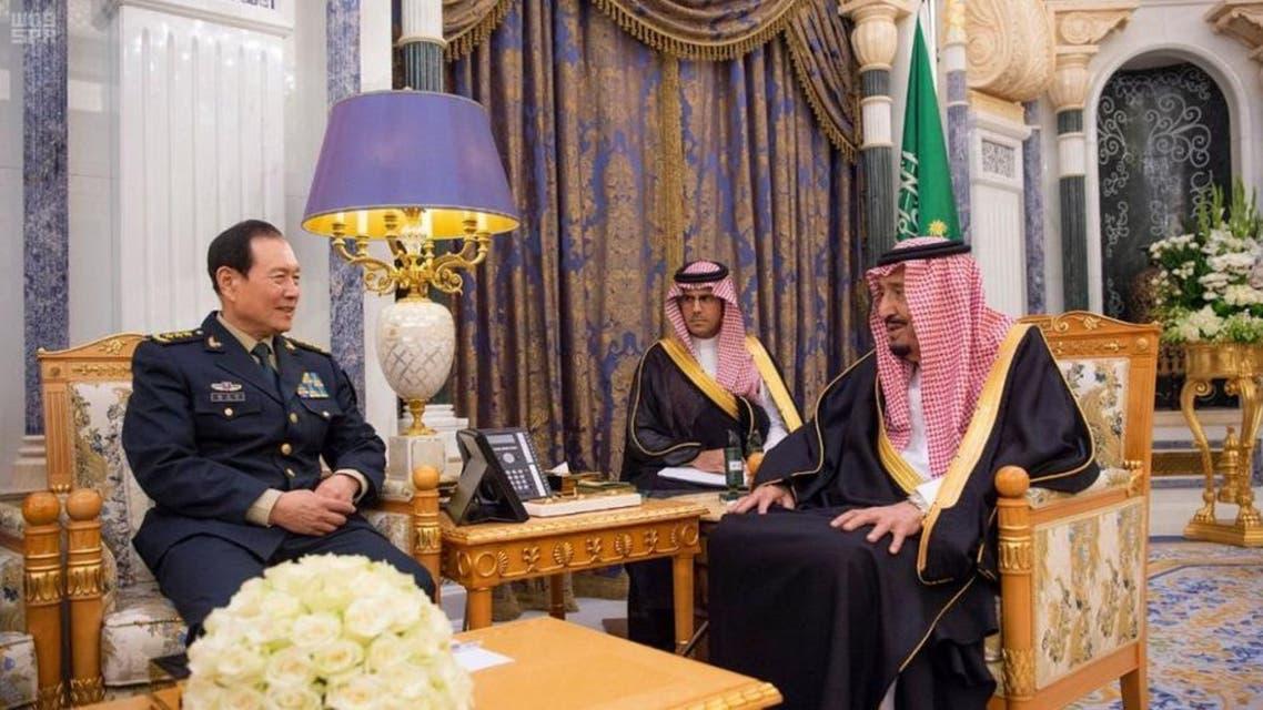 China and KSA