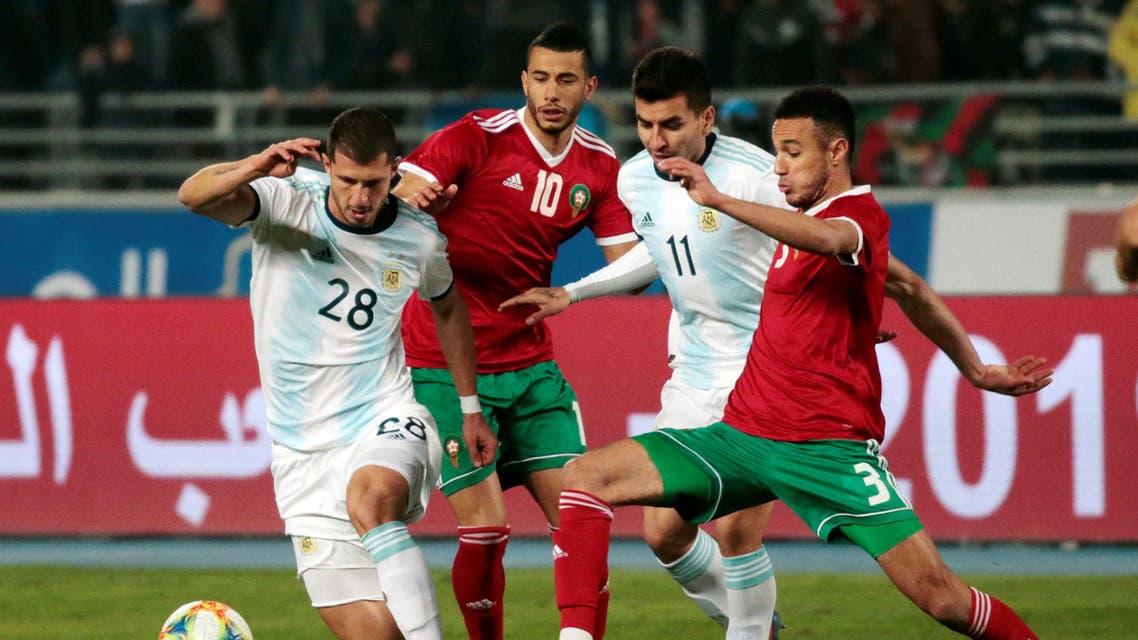الأرجنتين المغرب