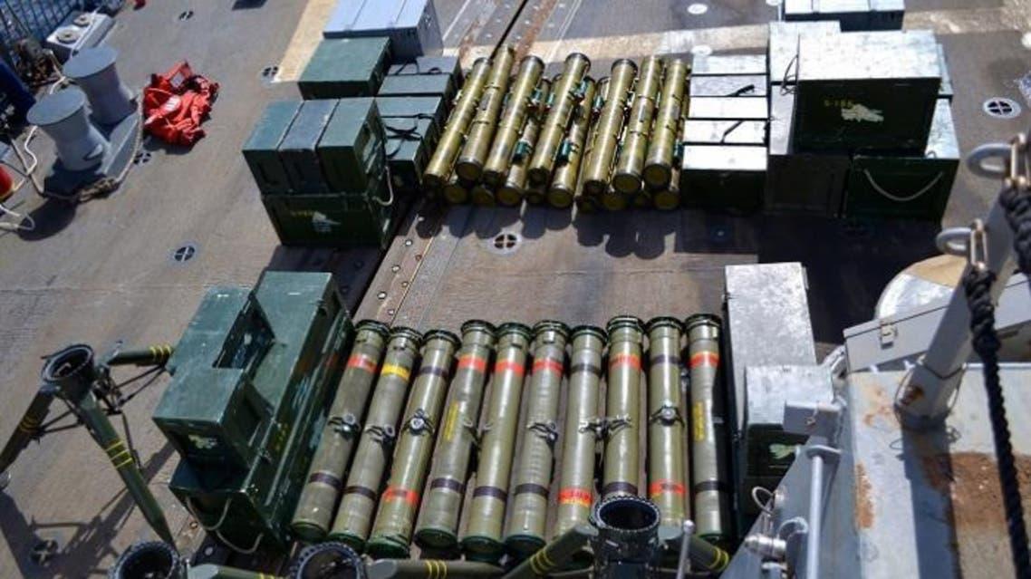الجيش اليمني يضبط شحنة صواريخ كانت في طريقها للحوثيين