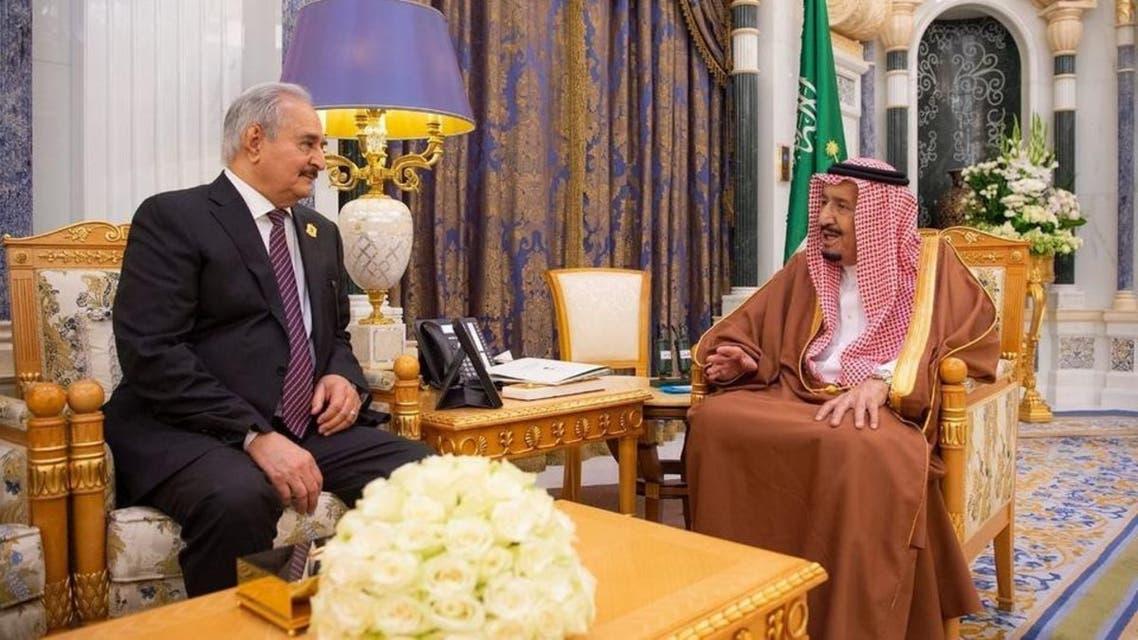 Khalifa Haftr and Shah Salman