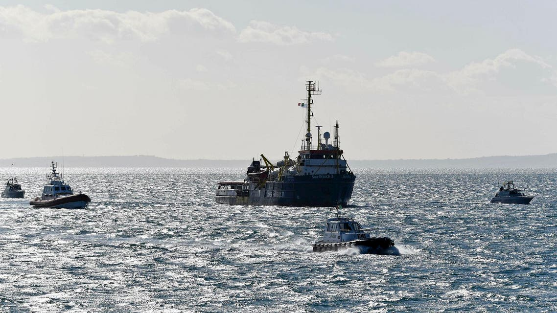 Migrants hijacked a cargo ship that rescued them in the Mediterranean Sea and forced the crew to put the Libya-bound vessel on a course north toward Europe. (File photo: AP)