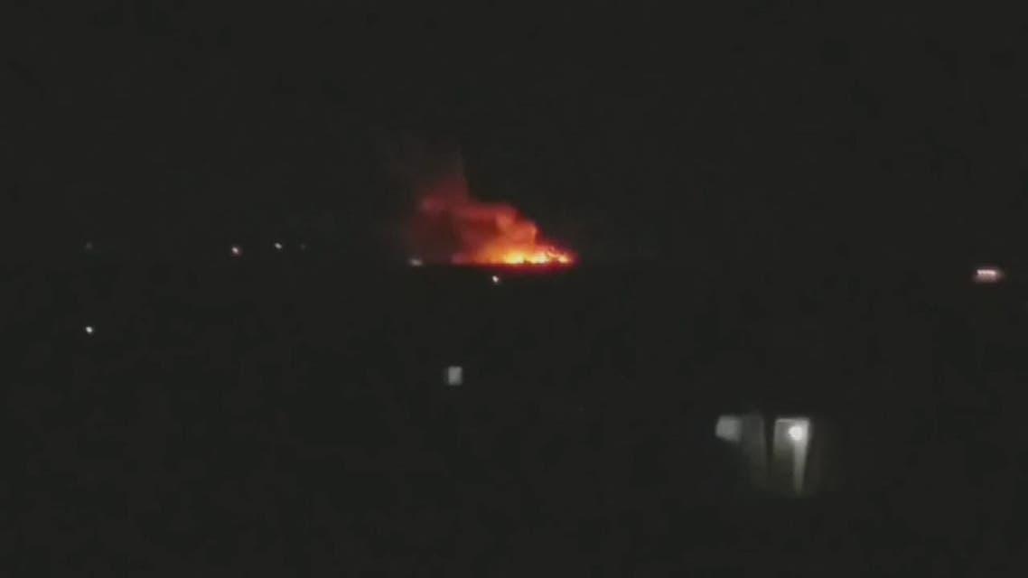 THUMBNAIL_ غارات إسرائيلية على حلب
