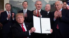 US criticized for recognizing Israeli sovereignty over Golan