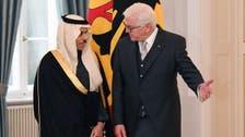 Saudi Arabia's ambassador to Germany presents his credentials