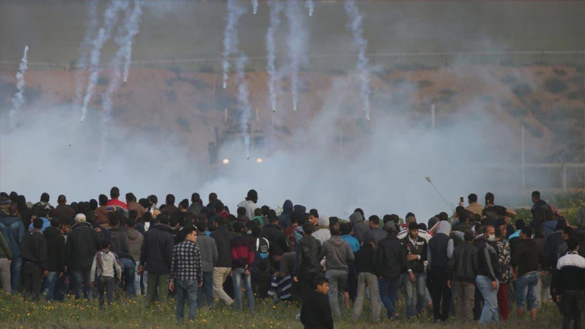 THUMBNAIL_ غزة.. مسيرات العودة في عام