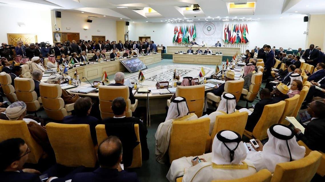 Arab Summit Tunisia FM (Reuters)