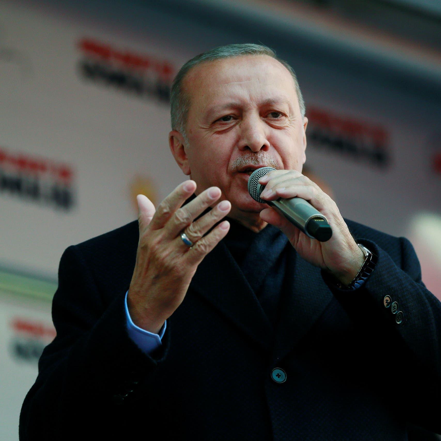 توسيع قصر أردوغان الصيفي وبناء ثلاثة شواطئ صناعية