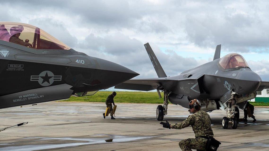 F-35. (AFP)