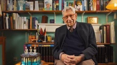 هكذا احتفل أكبر رجل في بريطانيا بعيد ميلاده الـ 111
