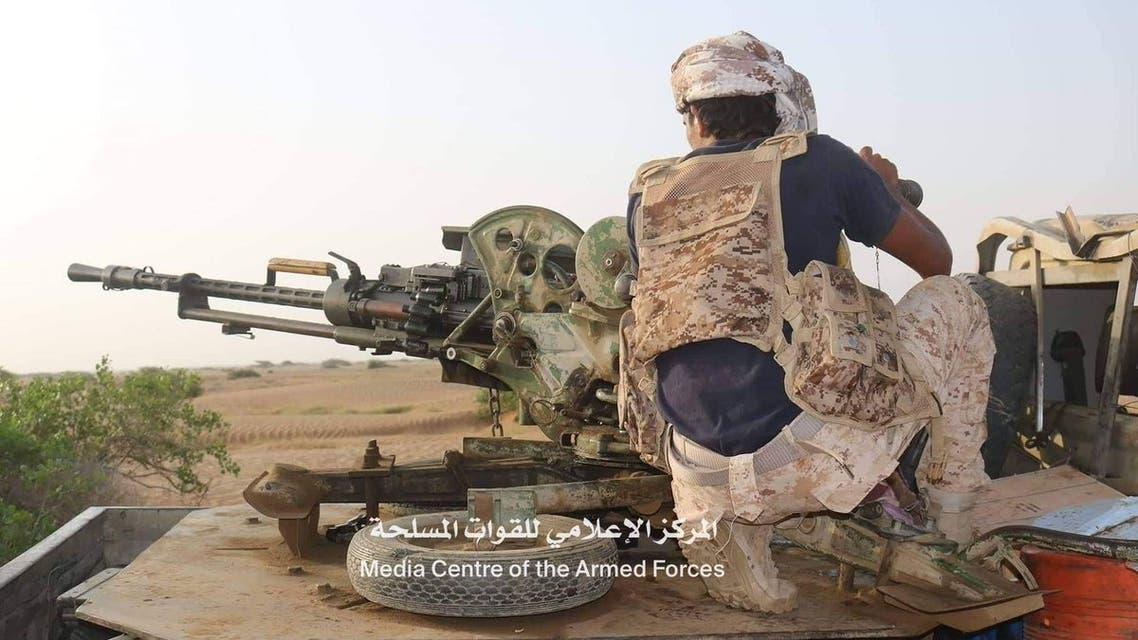 الجيش يحرر مساحات واسعة في اولى مناطق مديرية عبس بمحافظة حجة