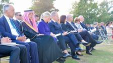 Saudi Arabia's al-Jubeir attends NZ memorial service