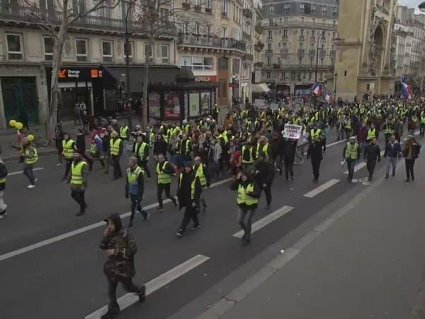 السبت الـ29.. أقل حضور بمسيرات السترات الصفر في فرنسا