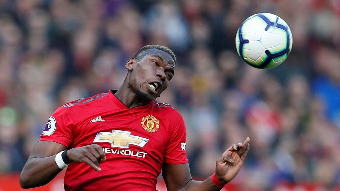Manchester United's Paul Pogba in action. (Reuters)