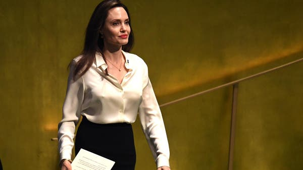 Angelina Jolie at UN speaks out for US engagement in the