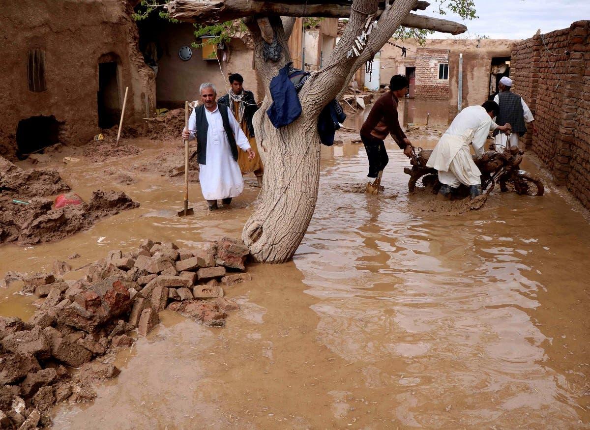 """من فيضانات أفغانستان """"أرشيفية"""""""