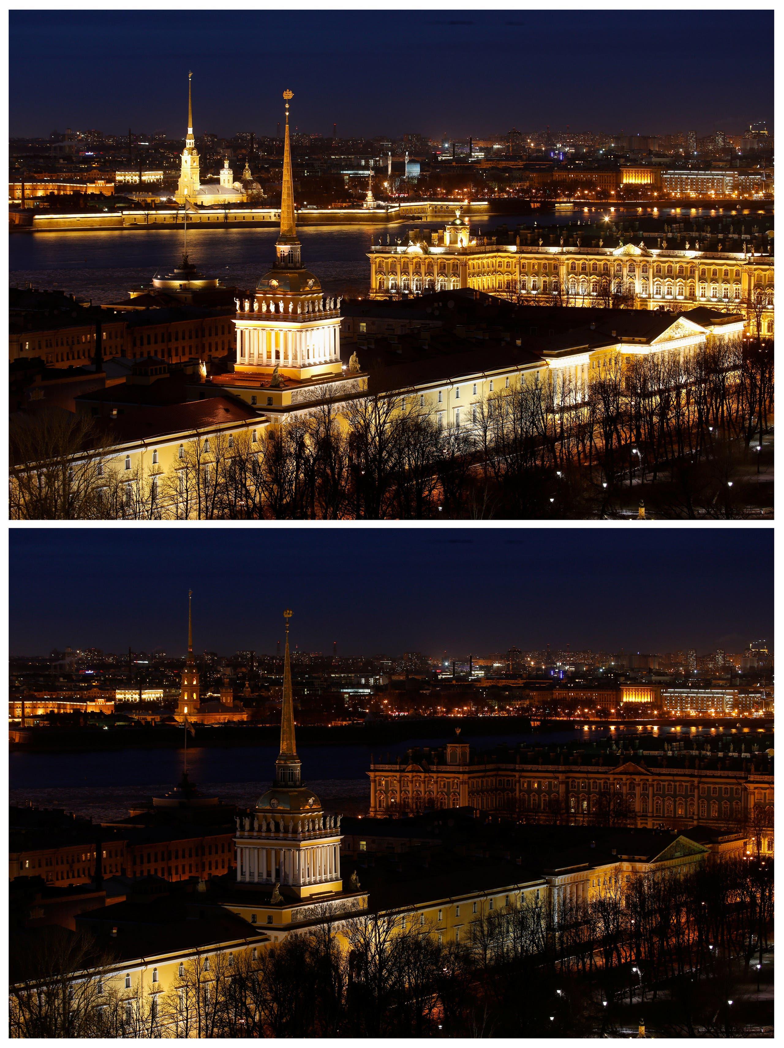 سان بطرسبرغ في روسيا